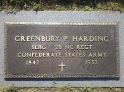 "Sgt Greenbury Patterson ""GB"" Harding"