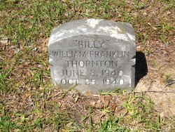"William Franklin ""Billy"" Thornton"