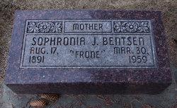 Sophronia Jane <I>Dayton</I> Bentsen
