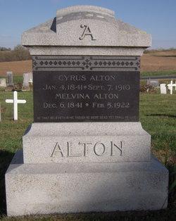 Sally Melvina <I>Abel</I> Alton