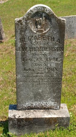 Elizabeth Ann <I>Covington</I> Henderson