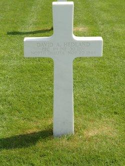 PFC David Arnold Hedland