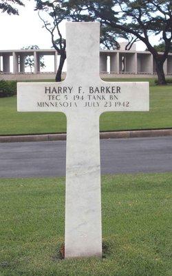 Tec5 Harry F Barker