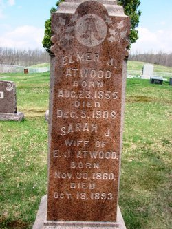 Sarah Jane <I>Avis</I> Atwood