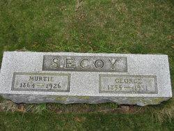 "Myrtle L. ""Murtie"" <I>Abell</I> Secoy"