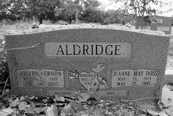 Jeanne May <I>Doss</I> Aldridge