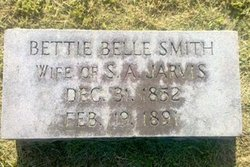 Bettie Belle <I>Smith</I> Jarvis