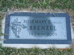 """Rosemary E """"Rosie"""" <I>Haessly</I> Brenzel"""