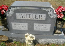 "Jane Lou ""Janie"" <I>Gentry</I> Butler"