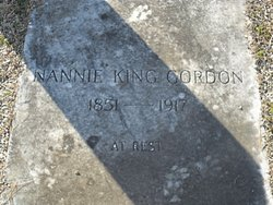Nannie <I>King</I> Gordon