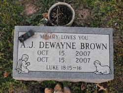 A J Dewayne Brown