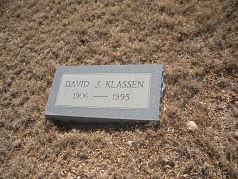 David J Klassen