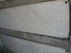 Marie G. <I>Ziegler</I> Adams
