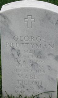MAJ George William Lyman Prettyman