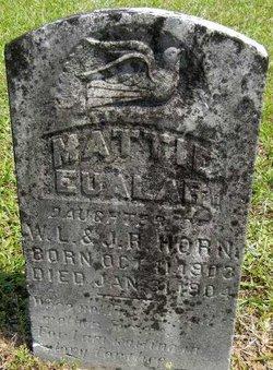 Mattie Eualar Horn