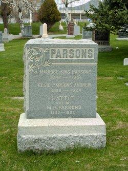 Harriet Matilda <I>Rose</I> Parsons