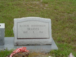 Blanche <I>Roddenberry</I> Brannen