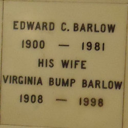 Virginia A <I>Bump</I> Barlow