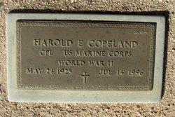 Harold E Copeland