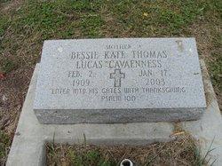 Bessie Kate <I>Thomas</I> Lucas Cavaenness