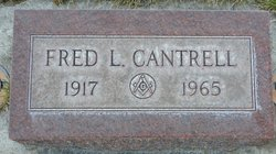 Fred Leroy Cantrell