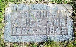 Alice Ann <I>Proctor</I> Whisenand