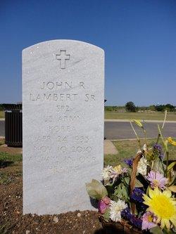 John R. Lambert, Sr