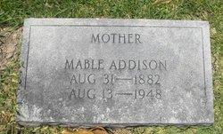 Mable <I>Ingram</I> Addison