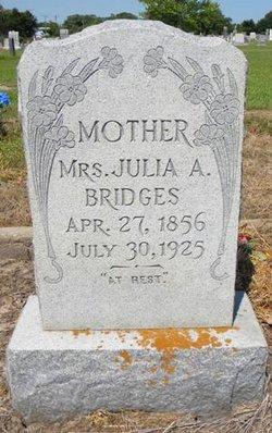 Mrs Julia Ann <I>Bennett</I> Bridges