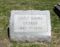 Emily Melrose <I>Hanna</I> George