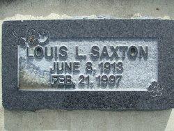 Louis Legrand Saxton