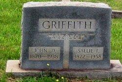 """Sarah Frances """"Sallie"""" <I>Taylor</I> Griffith"""