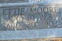 Ettie Alice <I>Moore</I> Richburg