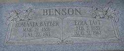 Romania Whitaker <I>Barber</I> Benson