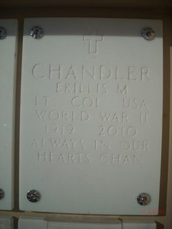 "Ekillis Momon ""Chan"" Chandler, Sr"