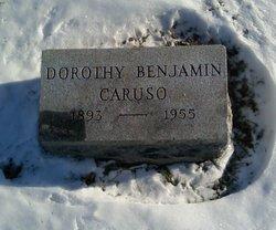 "Dorothy Park ""Doro"" <I>Benjamin</I> Caruso"