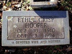 Ethel Purgie <I>Cochran</I> Hooper