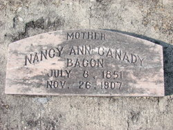 Nancy Ann <I>Canady</I> Bacon