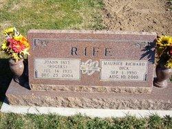"Maurice Richard ""Dick"" Rife"