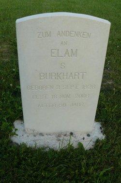 Elam S Burkhart