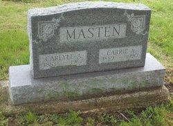 Carrie Alice <I>Duncan</I> Masten