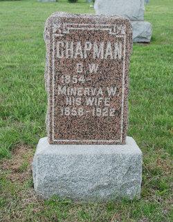 """Minerva """"Minnie"""" <I>Watson</I> Chapman"""