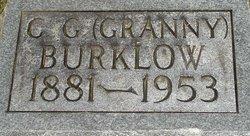"Cary Gilbert ""Granny"" Burklow"