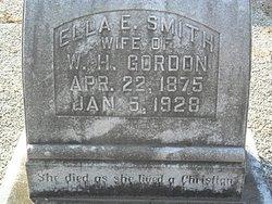 Ella Elizabeth <I>Smith</I> Gordon