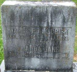 Amanda Jane <I>Mangrum</I> Crick