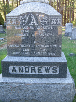 Florence Estella <I>Webster</I> Andrews