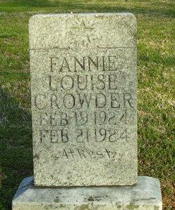 Fannie Louise Crowder
