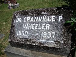 Dr Granville P. Wheeler