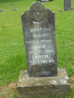 Mary Jane <I>Feaster</I> Wilson
