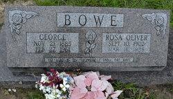 George Bowe